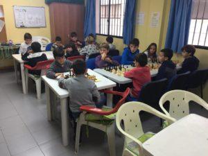 Escuela de ajedrez en nerja.