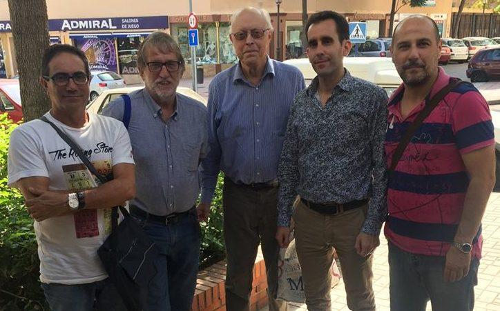 Integrantes del Equipo A Club de ajedrez Balcón de Europa.