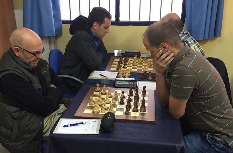 Campeonato provincial por equipos en la sede de Nerja