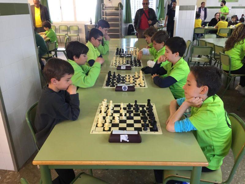 V copa infantil por equipos de Málaga