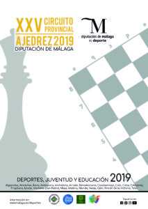 Cartel XXXV Circuito Provincial Ajedrez 2019